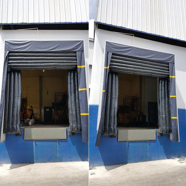 Bộ trùm túi khí – Dock shelter