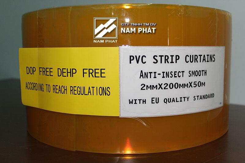 Màn nhựa PVC ngăn côn trùng tiêu chuẩn Châu Âu