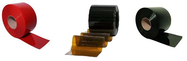 Các loại dải màn nhựa PVC ngăn tia lửa hàn