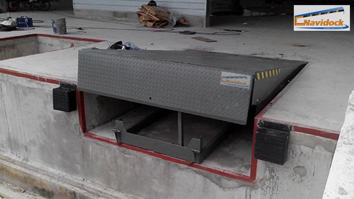 Dock leveler lắp tại kho lạnh Anfa AG