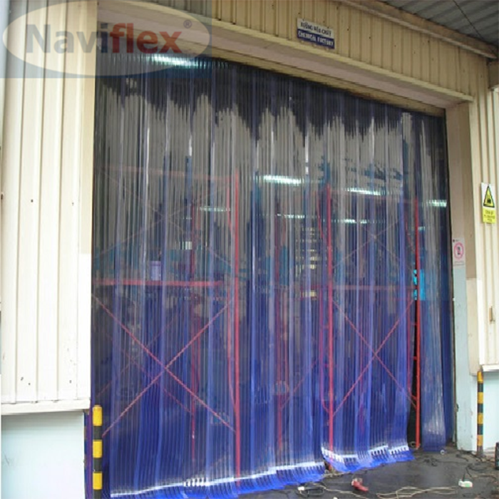 Màn nhựa PVC Naviflex ngăn bụi