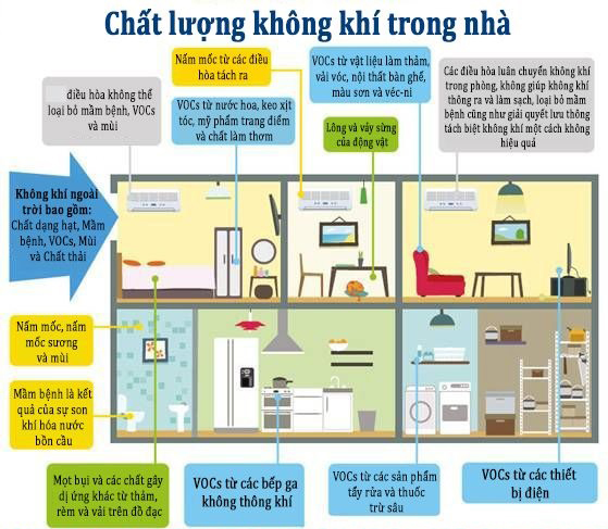 Chất lượng không khí trong nhà